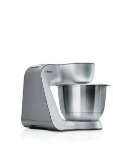 Küchenmaschine Teig kneten - Bosch MUM Küchenmaschine Styline MUM5 silber
