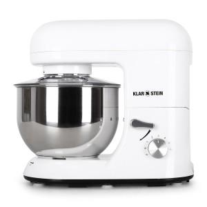 Teigknetmaschine 5 kg - Klarstein TK2-Bella Bianca Küchenmaschine leistungsstarke Rühr- und Knetmaschine