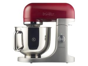 Küchenmaschine für Brotteig: Kenwood KMX 51 Küchenmaschine 500 Watt Softanlauf 2 Zubehöranschlüsse, 4,6L / Rot