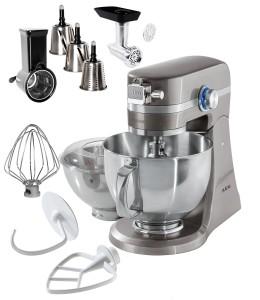 Küchenmaschine Teig kneten - AEG Küchenmaschine UltraMix KM + umfangreiches EXTRA-Zubehör-voll Metall Gehäuse