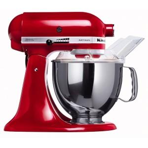 Teigmaschine - KitchenAid Küchenmaschine Artisan rot 5KSM150PSEER